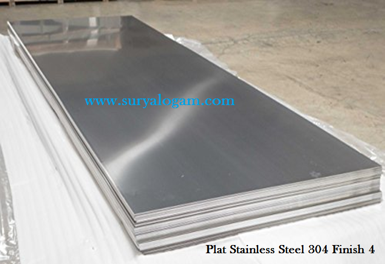 Plat Stainless Steel 304 Finish 4