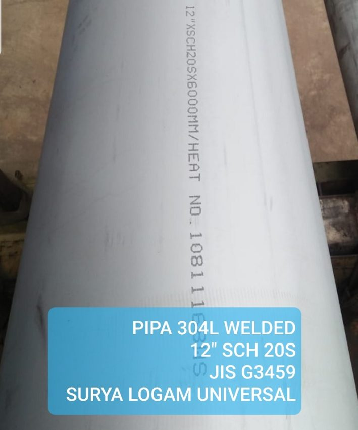 Pipa_304L_Welded_12in_Sch20s_JISG3459