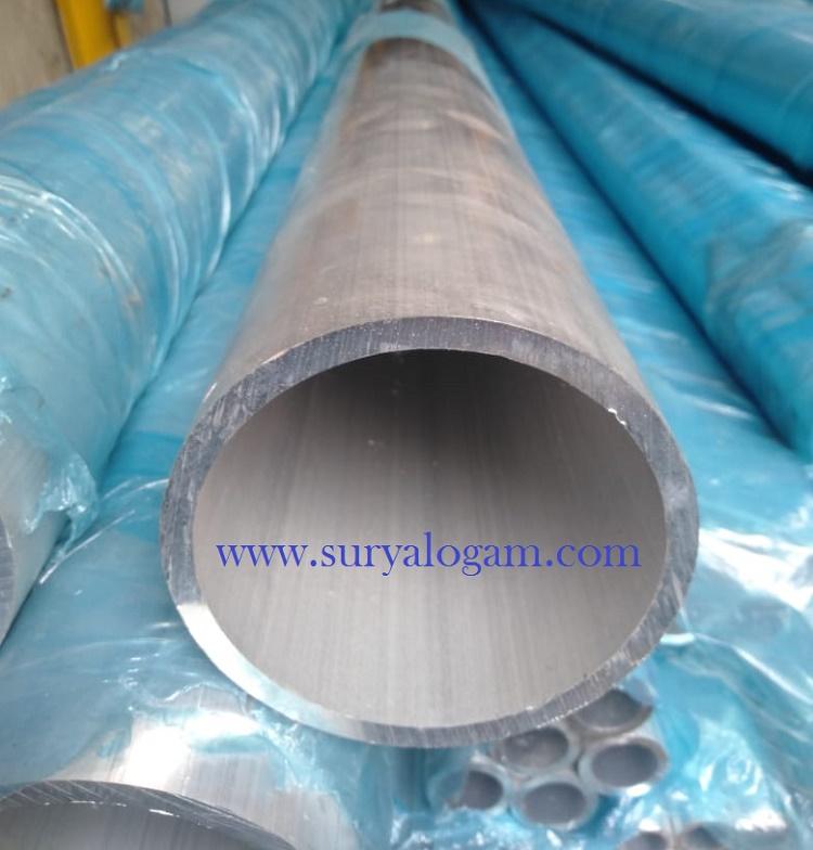 Pipa Aluminium 6063 T5
