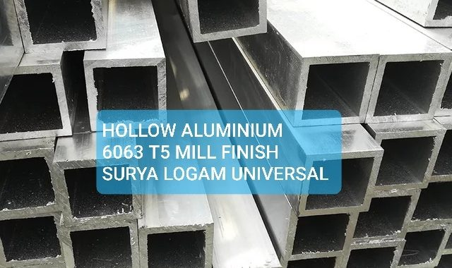hollow aluminium