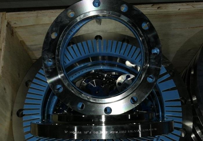 Flange 304L 10 Inch ANSI 150 SORF ASTM A182 ASME B16-5